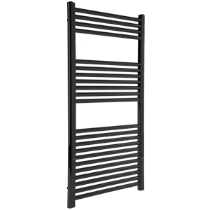 """Denby Towel Warmer 44"""" x 24"""" Hydronic Black Product Image"""