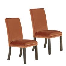 View Product - Trenton 2-Pack Upholstered Side Chairs, Orange