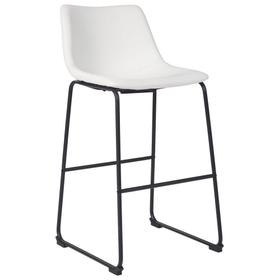 Centiar Pub Height Bar Stool White