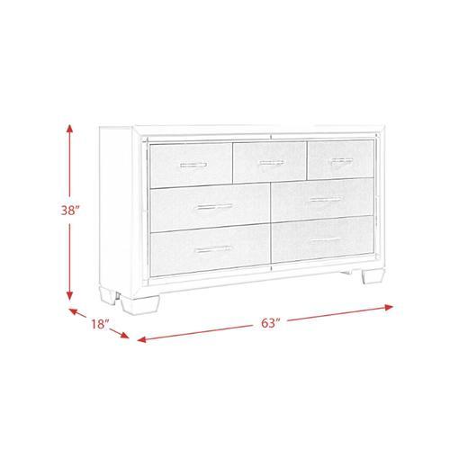 Elements - Platinum Dresser