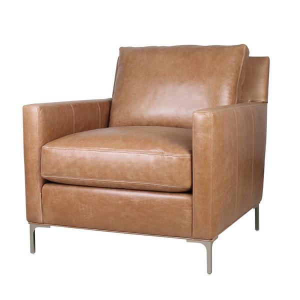 See Details - Turner Chair in Iceburg Cognac