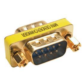 Compact/Slimline DB9 Gender Changer (M/M)