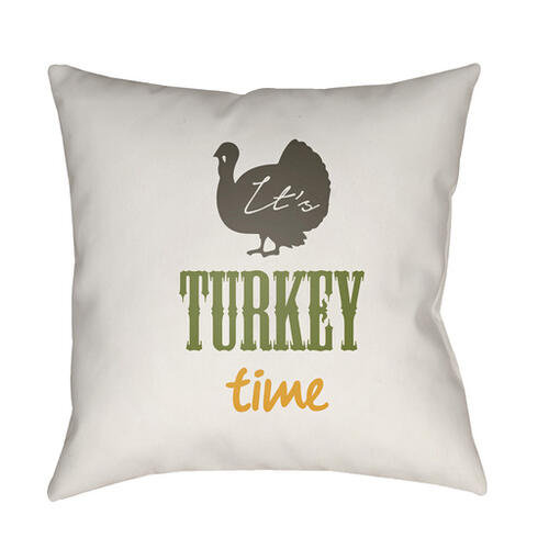"It's Turkey Time TME-004 18"" x 18"""