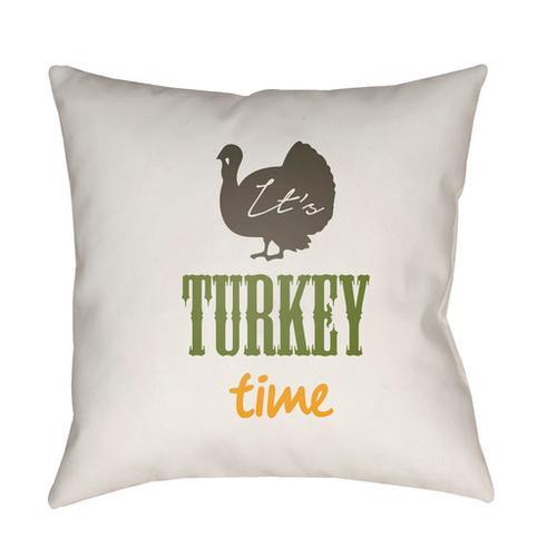 """Surya - It's Turkey Time TME-004 20""""H x 20""""W"""