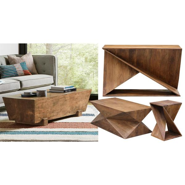 See Details - Vander - Console Table - Brawny Acacia Finish