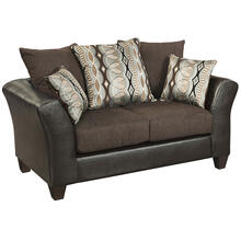 Riverstone Rip Sable Chenille Loveseat