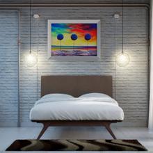 See Details - Tracy 2 Piece Queen Bedroom Set in Cappuccino Brown