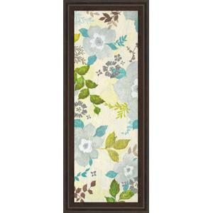 """Fragrant Garden I"" By Tava Studios Framed Print Wall Art"