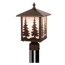 "Yosemite 8"" Outdoor Post Light Burnished Bronze"