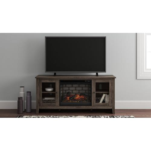 "Arlenbry 60"" TV Stand With Electric Fireplace"