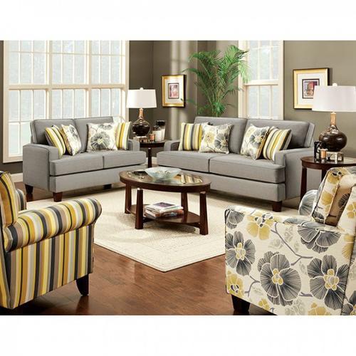 Furniture of America - Fitzgerald Love Seat