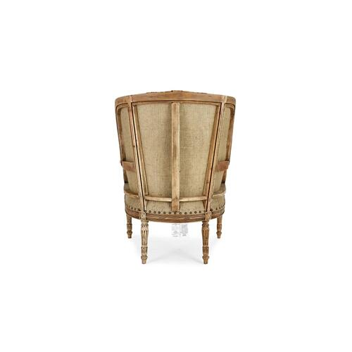 French Wing Chair - DRW LN126 LN33