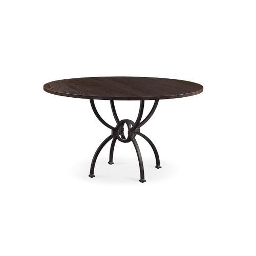 Atlas Oak Round Table
