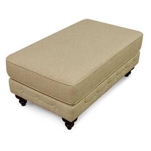 England Furniture2R07 Rondell Ottoman