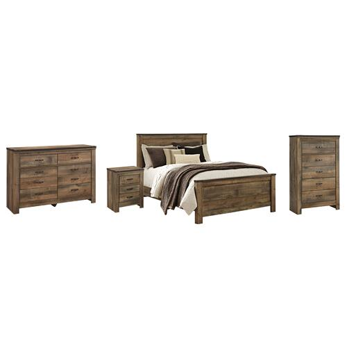 Ashley - Queen Panel Bed With Dresser, Chest and Nightstand