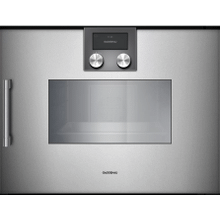 200 Series Combi-steam Oven 24'' Door Hinge: Right, Door Hinge: Right, Gaggenau Metallic