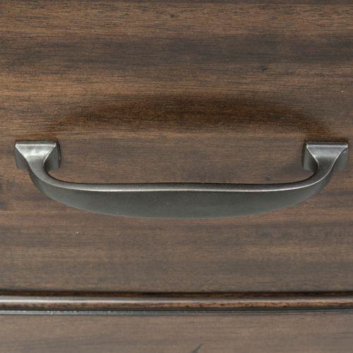 King Panel Storage Bed, Dresser & Mirror, Chest