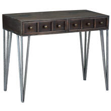CC-TAB2249S-VI  Writing Desk  Vintage Iron Brown