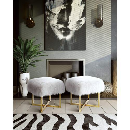 Tov Furniture - Nomo Sheepskin Bench