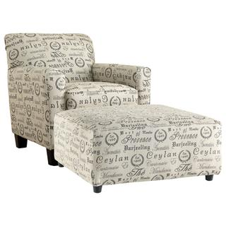 See Details - Chair and Ottoman