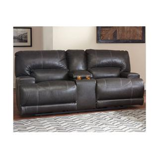 See Details - DBL Rec Loveseat w/Console
