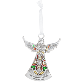 Angel Ornament - May Christmas miracles surround you