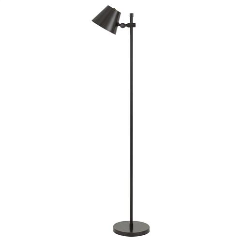 Vaduz LED 12W Metal Floor Lamp With Adjustable Head, 3000K