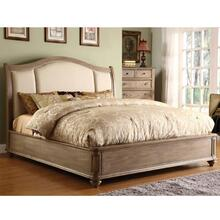 Coventry - King/cali King Sleigh Footboard With Slats - Weathered Driftwood Finish
