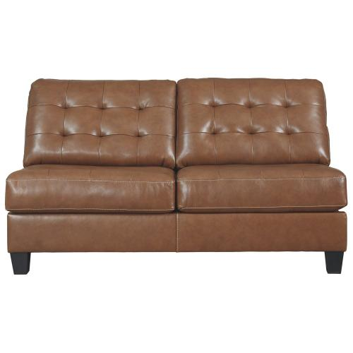 Baskove Armless Loveseat