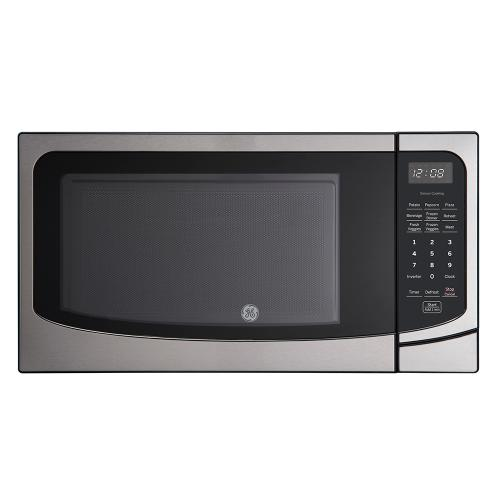 GE 1.6 Cu. Ft. Countertop Microwave Oven Stainless Steel - JEB2167RMSS