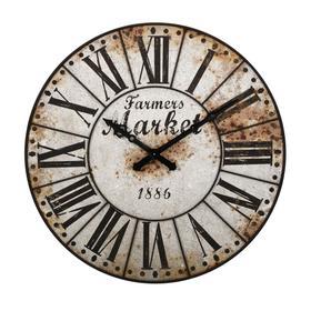 Farmers Market Oversized Wall Clock