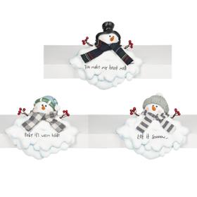 Melting Snowman Shelfsitters (3 pc. ppk.)