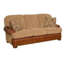 Edward Leather/Fabric Sofa