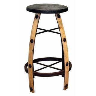 Reg Wax Round Barstool