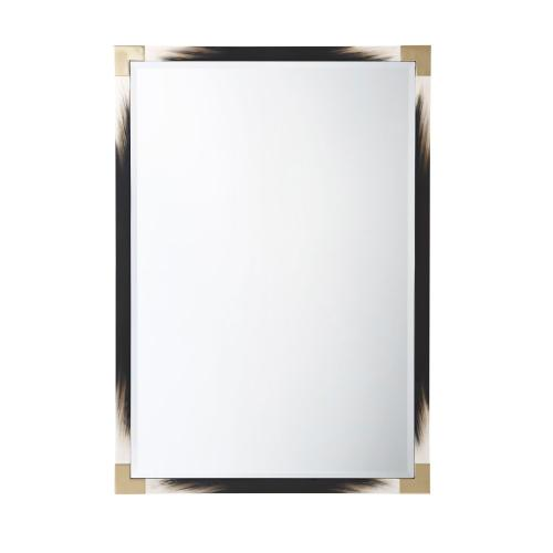 See Details - Small Cutting Edge Wall Mirror