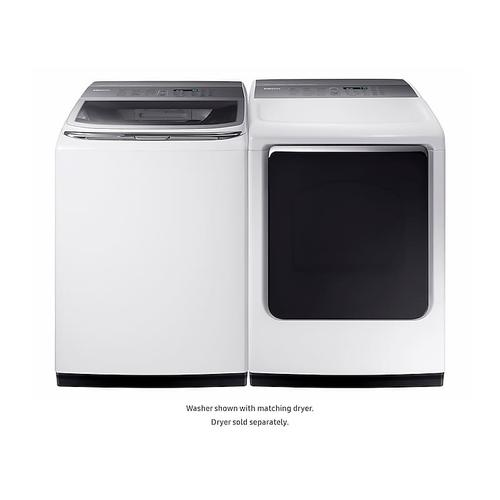 5.4 cu. ft. Top Load Smart Washer with Integrated Touch Controls and activewash™ in White