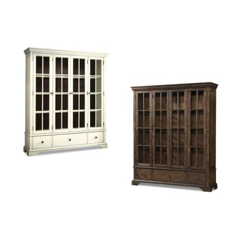 Trisha Yearwood Monticello Dining Room Curio in Coffee Finish