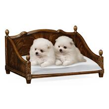 Product Image - Rectangular Four Poster Mahogany Dog Bed