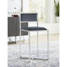 View Product - Amalfi X-Base Counter Stool with Cognac Finish