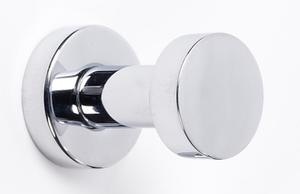 Euro Robe Hook A8980 - Unlacquered Brass Product Image