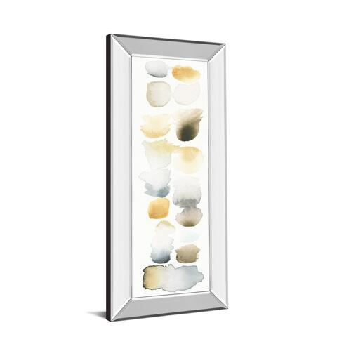 """Watercolor Swatch Panel Il"" By Elyse De Neige Mirror Framed Print Wall Art"