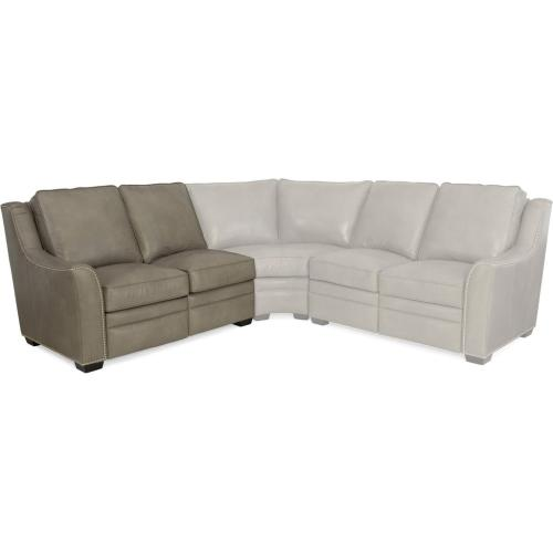 Kerley Leather Reclining Sectional