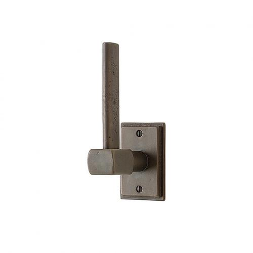 Tempo Vertical Toilet Paper Holder - TP4 Silicon Bronze Brushed