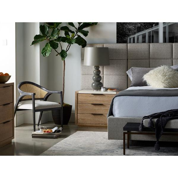 See Details - Bacall King Bed with Wall Panels