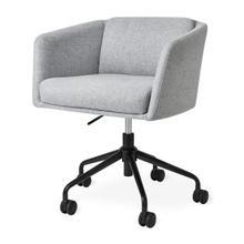 See Details - Radius Task Chair Bayview Silver / Black