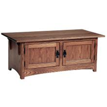 See Details - Mission 2-Door Coffee Table