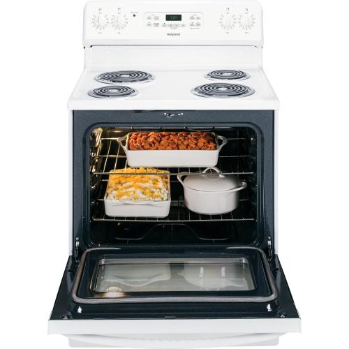 """Hotpoint - Hotpoint® 30"""" Free-Standing Electric Range"""