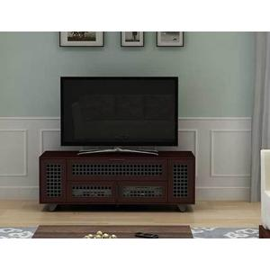 """Dark Cherry AV Stand For TVs up to 70"""" and 100 lbs / 45 kg"""
