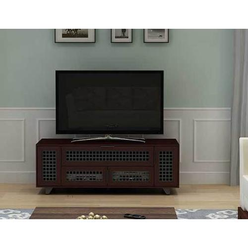 """Product Image - Dark Cherry AV Stand For TVs up to 70"""" and 100 lbs / 45 kg"""