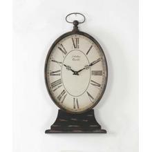 Paris Table Clock